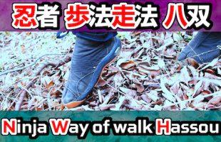 Ninja [ Way of walk / Way of run] Sword Lesson [Hassou]